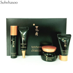 [mini] SULWHASOO Goa Kit 4items (Ampoule 3.5ml + Eye & Lip Cream 3ml + Cream 5ml + Neck Cream 5ml), SULWHASOO